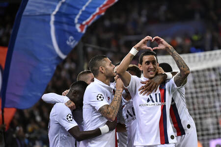 Célébration - but d'Angel Di Maria