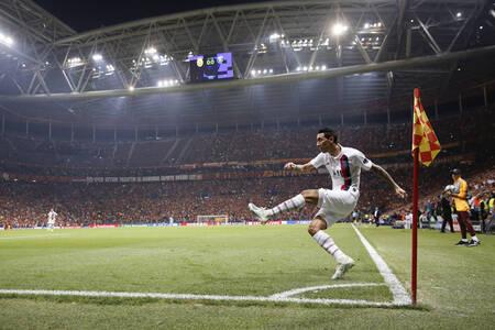 Esquina - Angel Di Maria frente a Galatasaray
