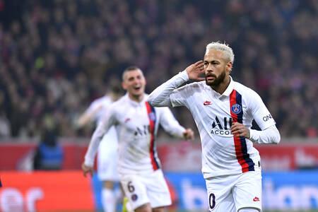 Doublé de Neymar Jr face au LOSC