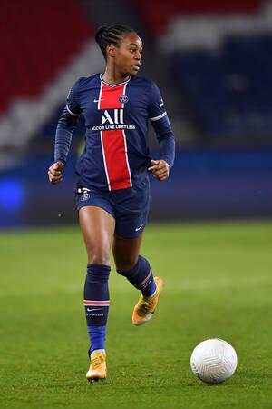 Marie-Antoinette Katoto face à l'Olympique Lyonnais