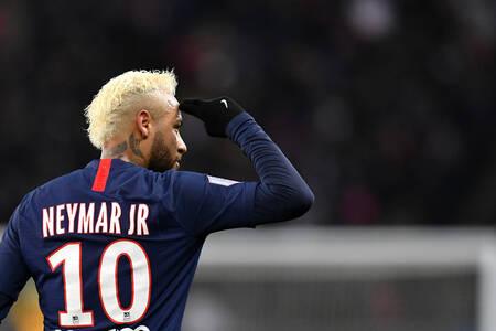 Neymar Jr face à Monaco