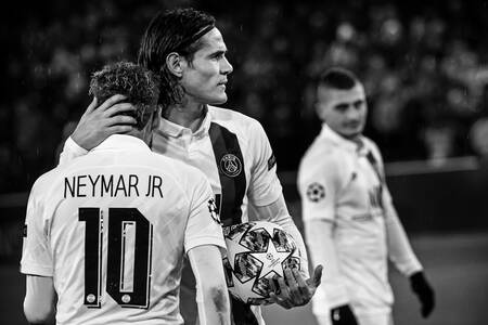 Penalty - Neymar Jr et Edinson Cavani