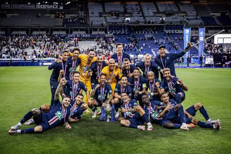 Victoire en Coupe de France