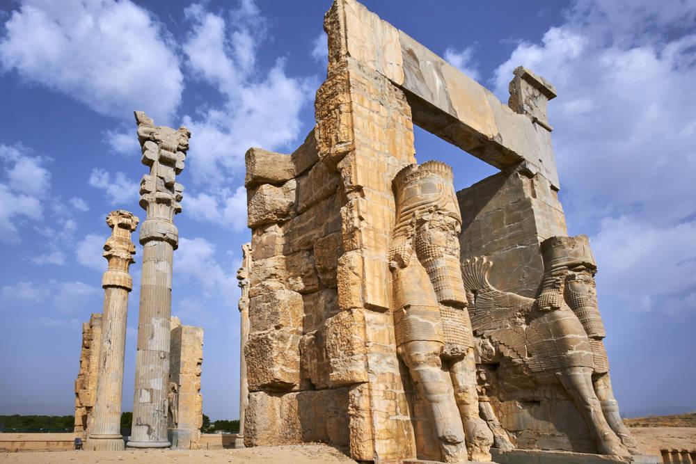Iran Persepolis Photographic Print For Sale