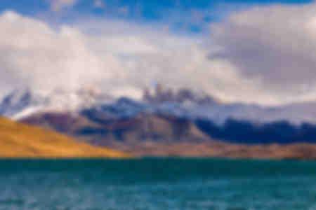 Schöne Landschaften in Patagonien