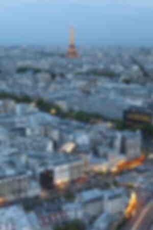 Eiffel Tower evening light