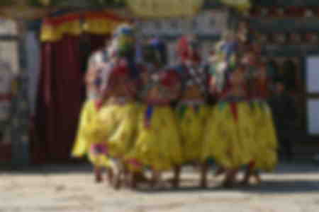 Bumthang Dancers Festival