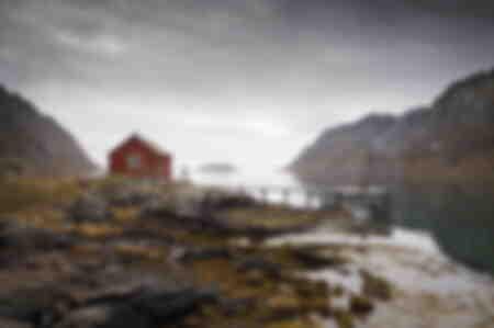 Fisherman's hut Scandinavia