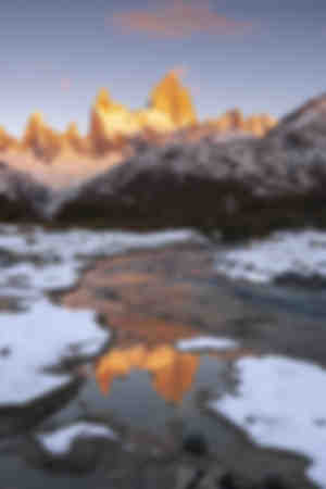 Fitz Roy and Cerro Torre with