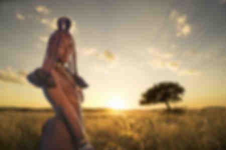 Himba woman Kaokoland