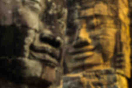 King Jayavarman VII's last temple in Angkor Thom