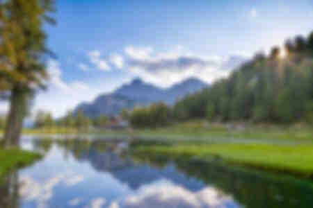 Lake Anturno Italy
