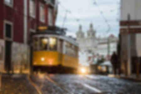 Atmósfera romántica en las viejas calles
