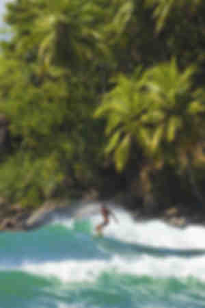 Surfer near Matara