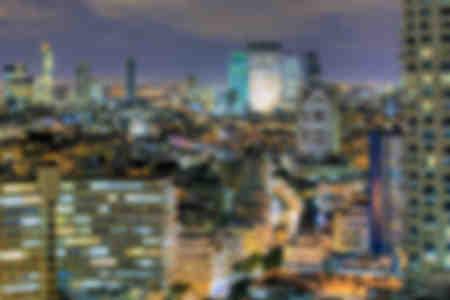 Vista de la ciudad de Tel Aviv