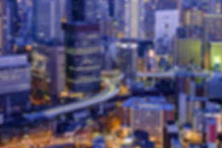 La ville d'Osaka au Japon