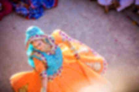 Danza tradizionale Radha India