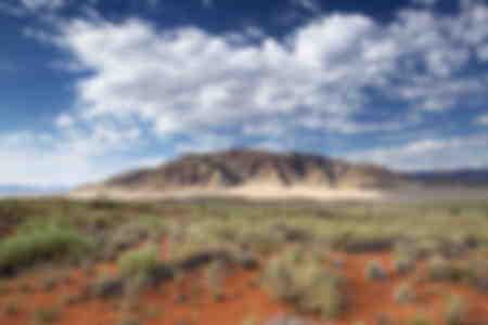 View across magnificent landscape Namibia