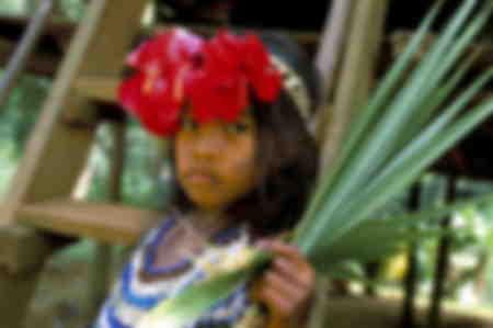 Young Embera Indian Panama