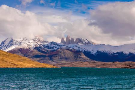 Wolken von Patagonien