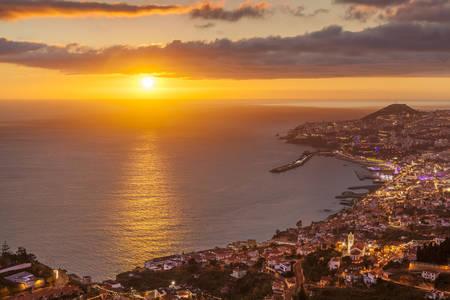 Madeira Funchal skyline