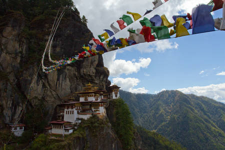 The Tiger's Nest Fortress of Paro
