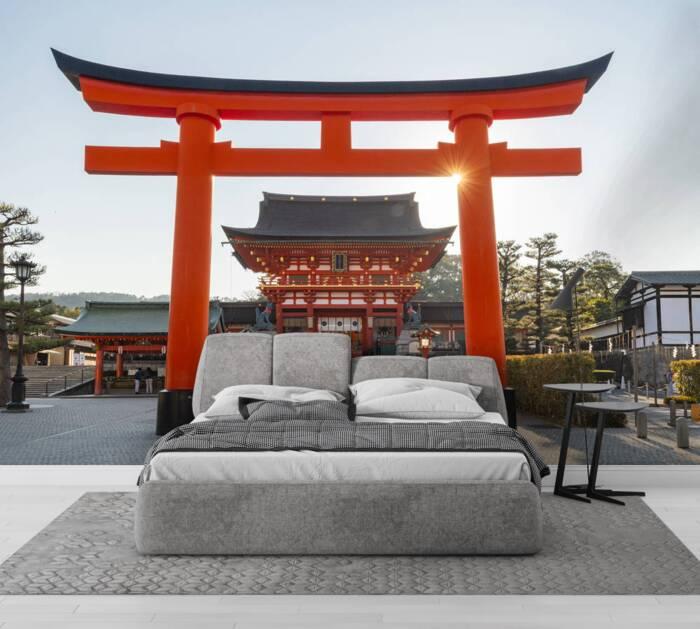 Inari Fushimi Taisha shrine and torii gates