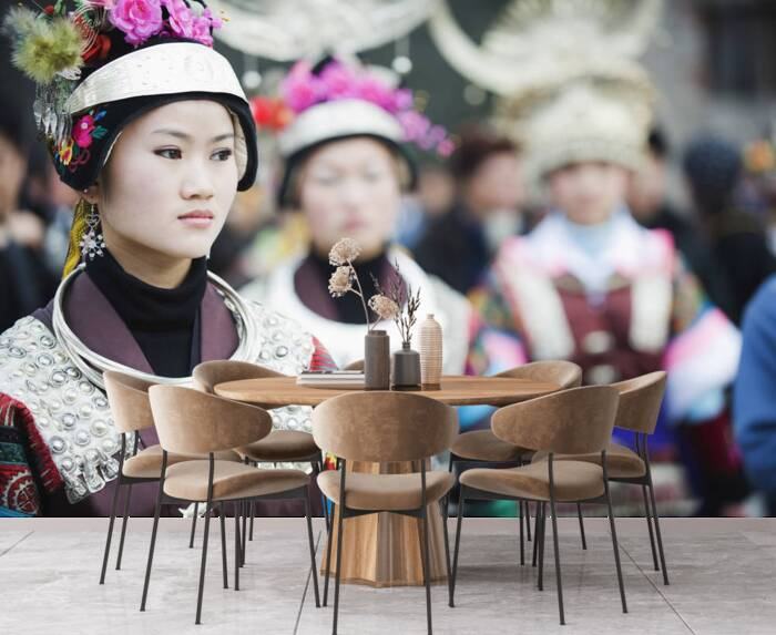 Women in ethnic costume