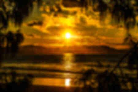Rahmen Sonnenuntergang kein Filter