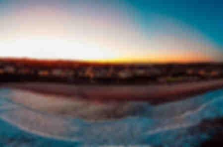 Sunset at North Bondi