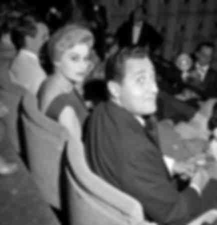 Alberto Sordi and Silvana Mangano at the Cannes Film Festival