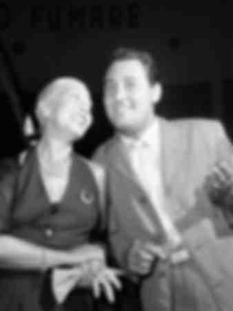 Alberto Sordi et Wanda Osiris 1952