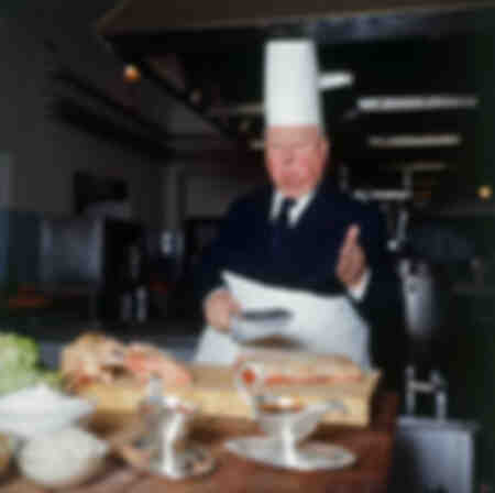 Alfred Hitchcock in cucina
