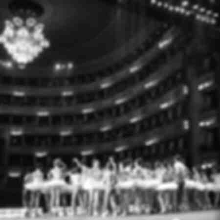 Dancers at the Teatro alla Scala in 1963