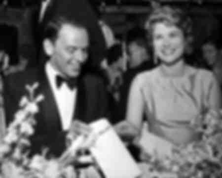 Frank Sinatra en Grace Kelly
