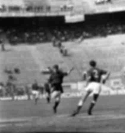 Gianni Rivera au championnat italien de football