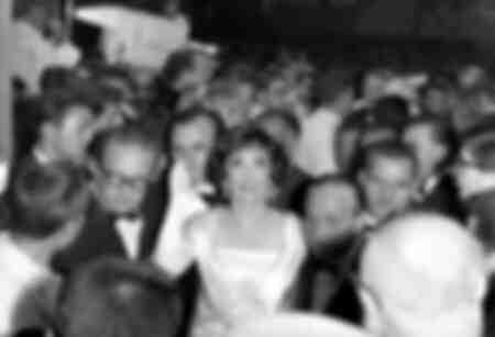 Gina Lollobrigida à Venise