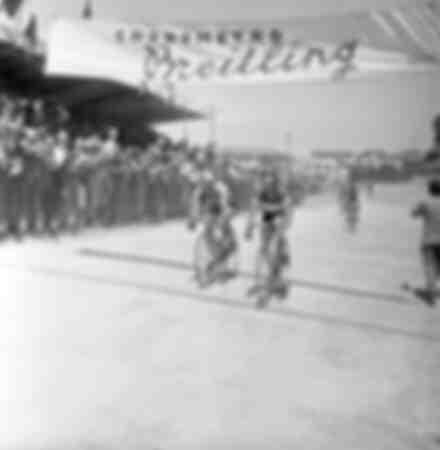 Gino Bartali at the 1953 Giro