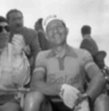 Gino Bartali at the Giro d'Italia