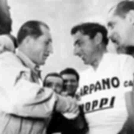 Gino Bartali and Fausto Coppi