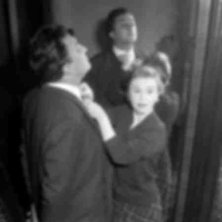 Giulietta Masina and Federico Fellini 1954