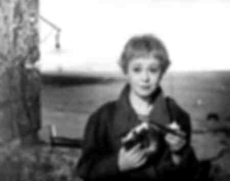 Giulietta Masina i filmen La Strada