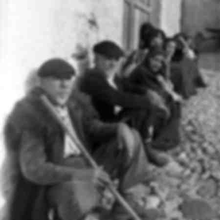 Groupe de seniors en Sardaigne en 1955