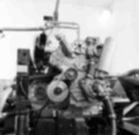 Le moteur de la Lamborghini 2000