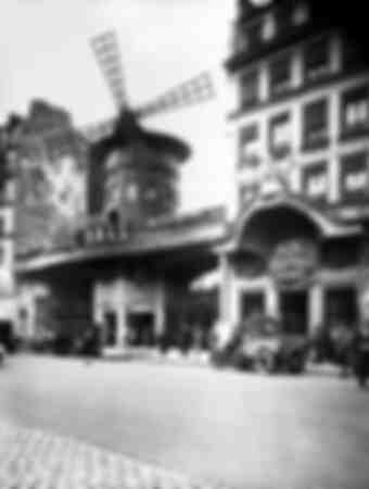 The Moulin Rouge in the 1920s