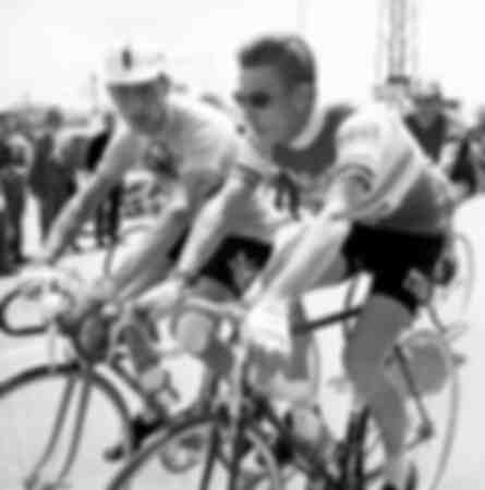 Jacques Anquetil y Charly Gaul