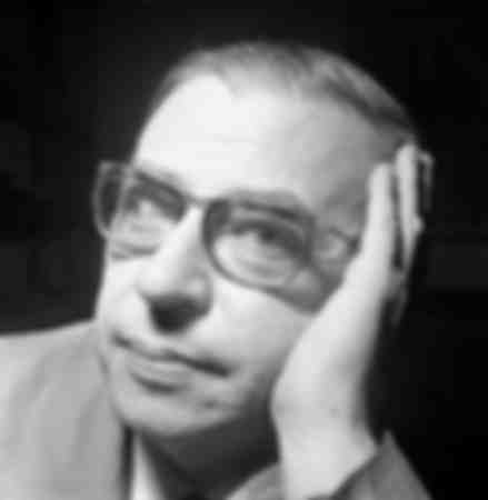 Jean-Paul Sartre in Milan in 1961