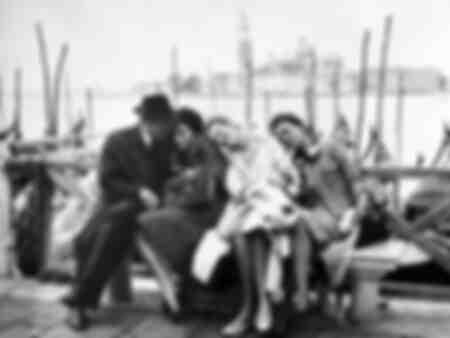 Jeanne Moreau in Venice