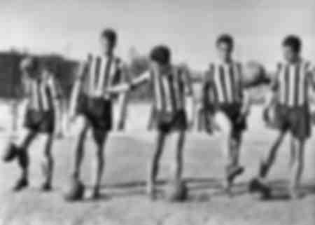 Juventus allenamenti 1957