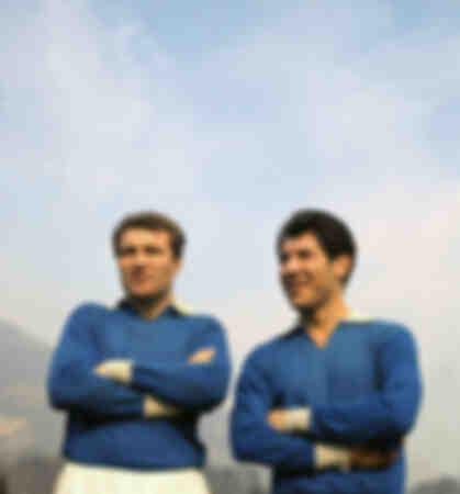 Jose' Altafini e Omar Sivori al Napoli